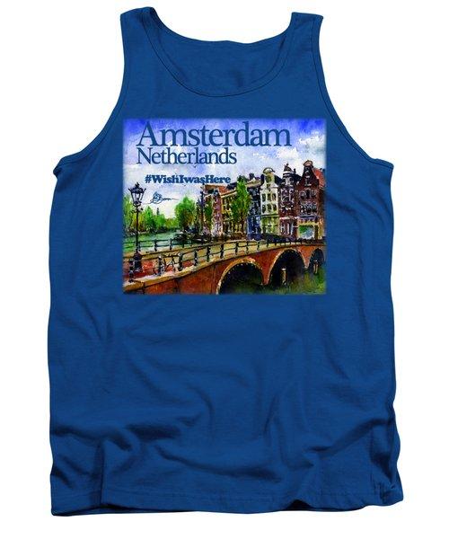 Amsterdam Netherlands Shirt Tank Top