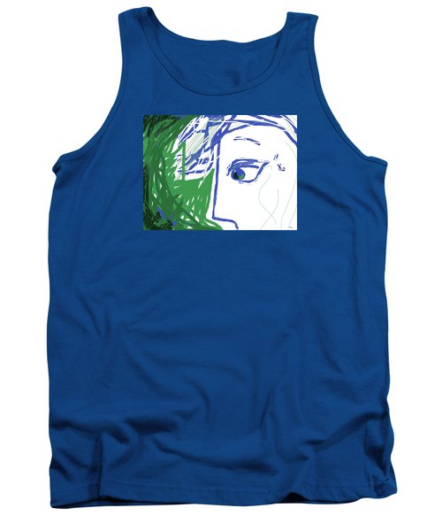 An Eye's View Tank Top by Mary Armstrong