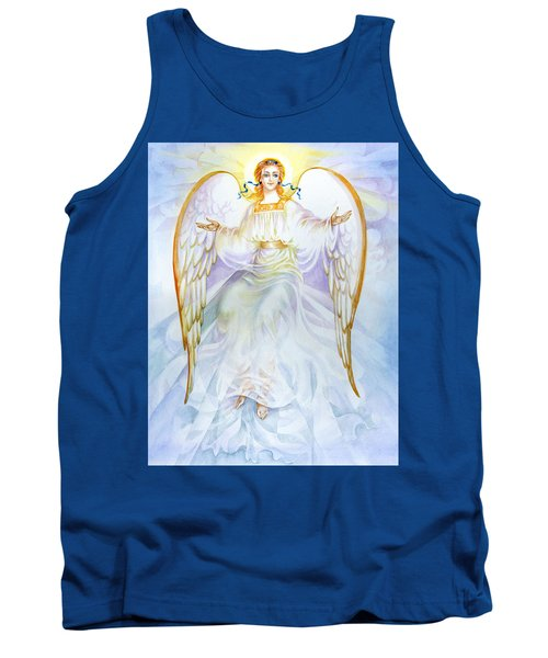 Tank Top featuring the painting Angel Of Grace by Karen Showell