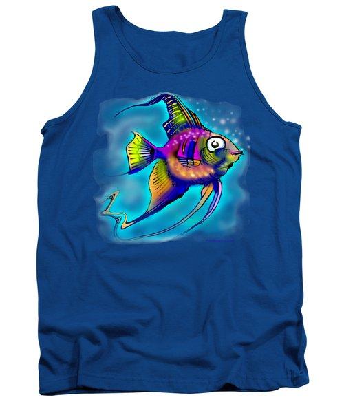 Angelfish Tank Top