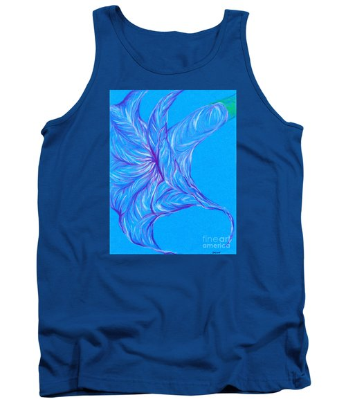 Tank Top featuring the photograph Angel's Trumpet by Kim Sy Ok