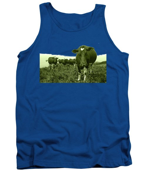 Annoyed Cow Tank Top