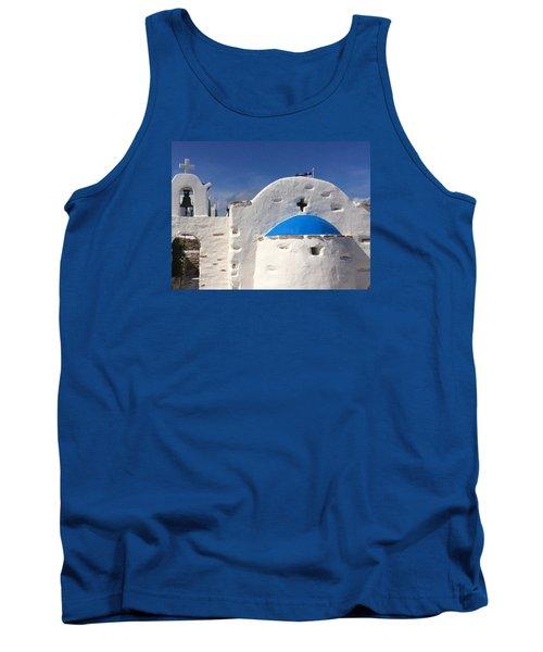 Antiparos Island Greece  Tank Top