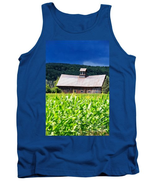 Approaching Storm Vermont Barn Tank Top
