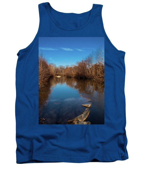 Tank Top featuring the photograph Ararat River by Randy Sylvia