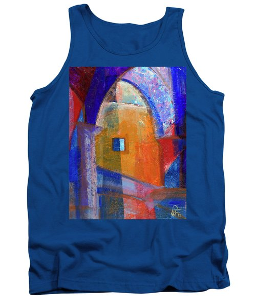 Arches And Window Tank Top by Walter Fahmy