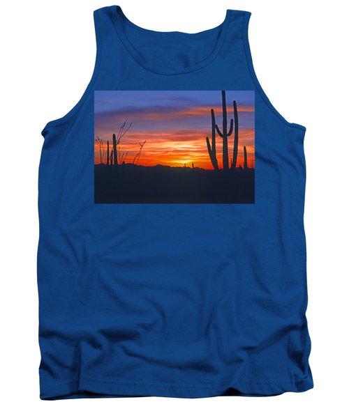 Arizona Desert Sunset Tank Top