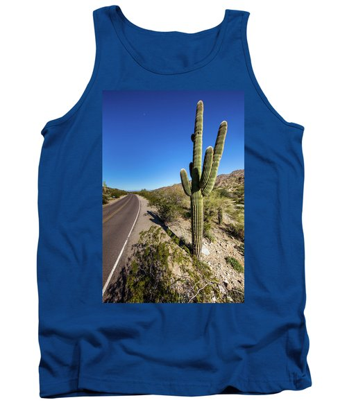 Tank Top featuring the photograph Arizona Highway by Ed Cilley