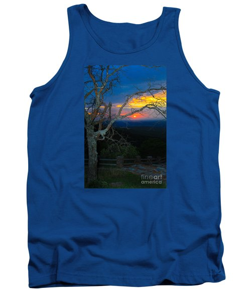 Arkansas Sunset II Tank Top by John Roberts