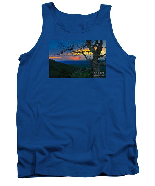 Arkansas Sunset Tank Top by John Roberts
