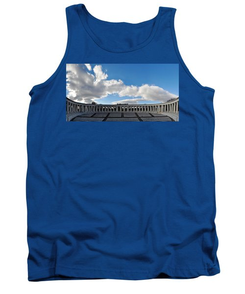 Arlington National Cemetery Memorial Amphitheater Panorama Tank Top