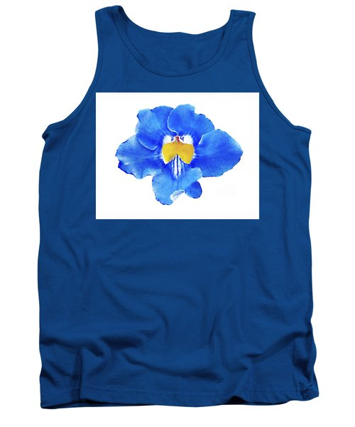 Art Blue Beauty Tank Top