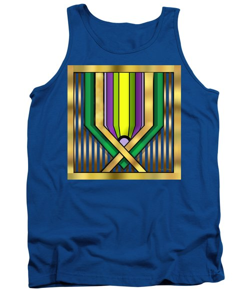 Art Deco 14 A Transparent Tank Top by Chuck Staley