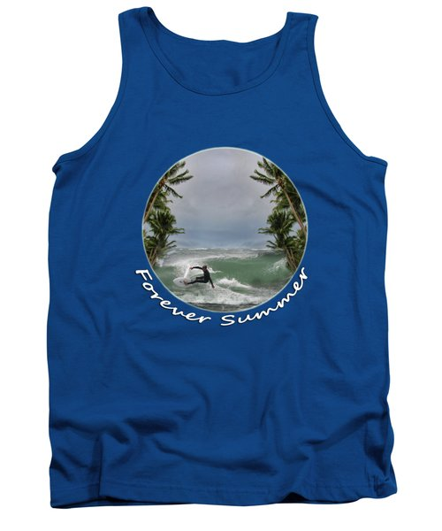 Tank Top featuring the photograph Forever Summer 2 by Linda Lees