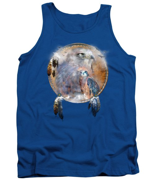 Dream Catcher - Hawk Spirit Tank Top
