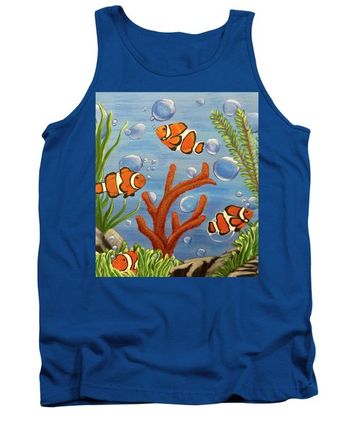 Clowning Around Tank Top