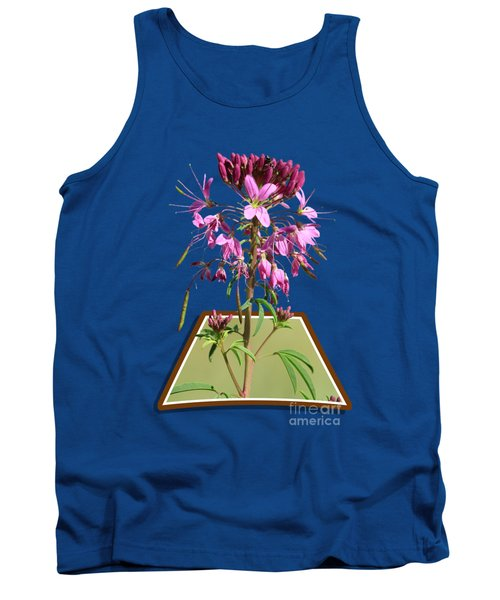Rocky Mountain Bee Plant Tank Top by Shane Bechler