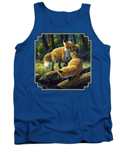 Red Foxes - Sibling Rivalry Tank Top