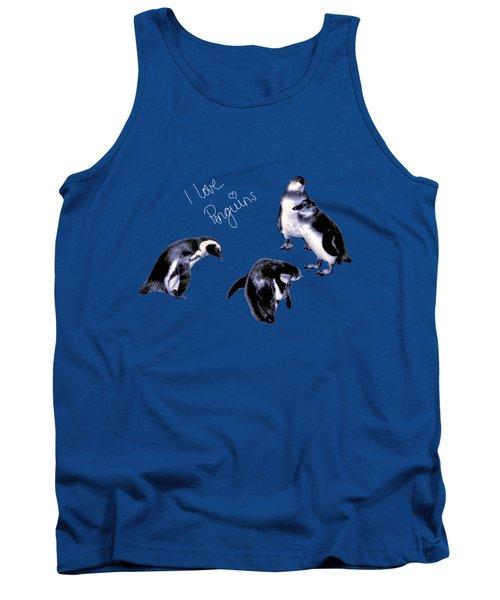 Cute Penguins Tank Top