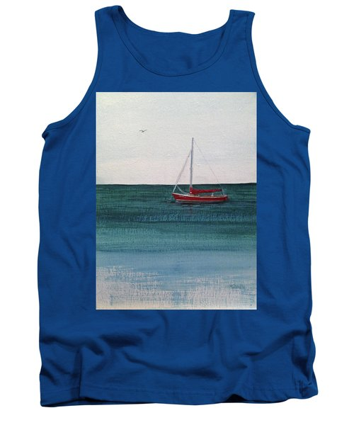 At Rest Tank Top by Wendy Shoults