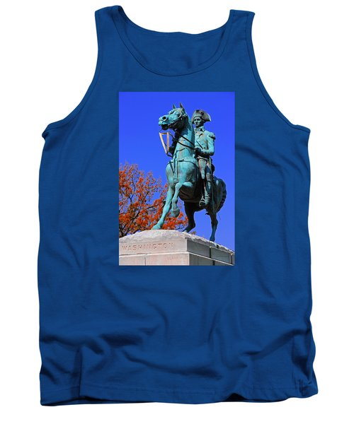 At The Battle Of Princeton Tank Top by Iryna Goodall