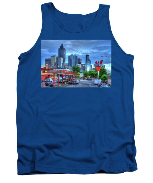 Atlanta Landmark The Varsity Art Tank Top