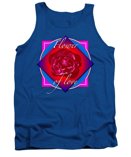 August Rose Tank Top by Richard Farrington