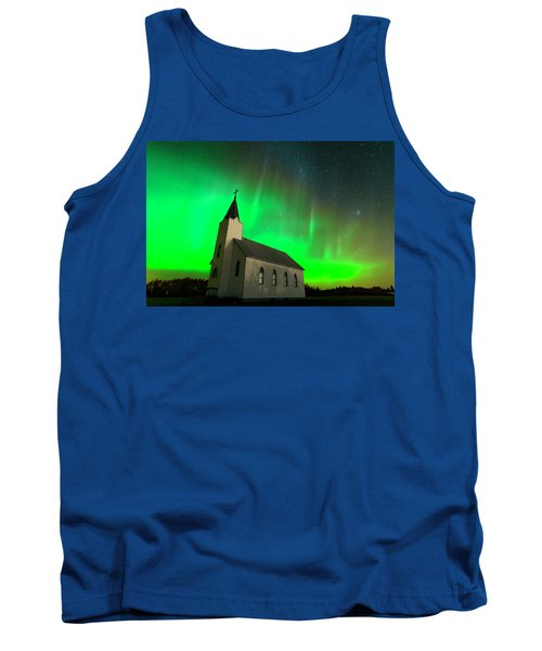 Aurora And Country Church Tank Top