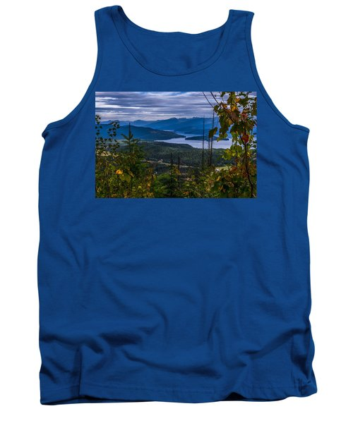 Autumn At Priest Lake Tank Top by Yeates Photography