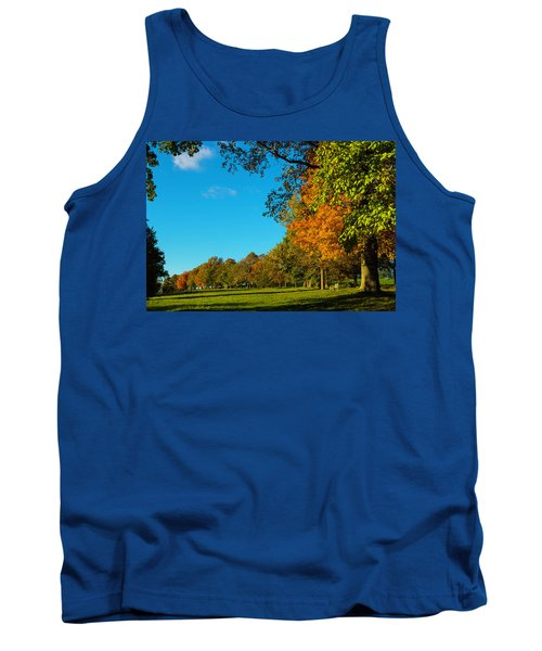 Autumn At World's End Tank Top
