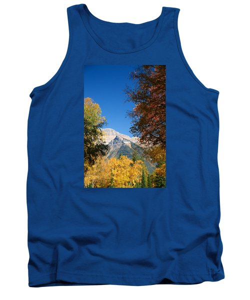 Autumn Peaks Tank Top by Lawrence Boothby