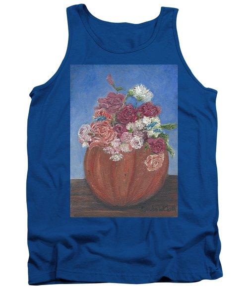 Autumn Petals Tank Top
