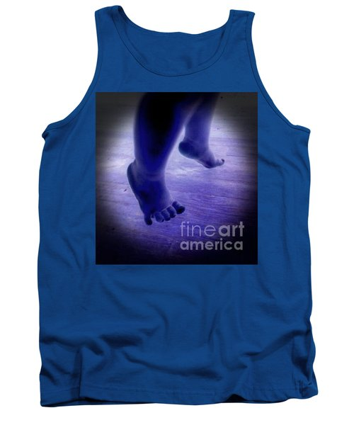 Baby Blu Dancing Royal Feet Tank Top