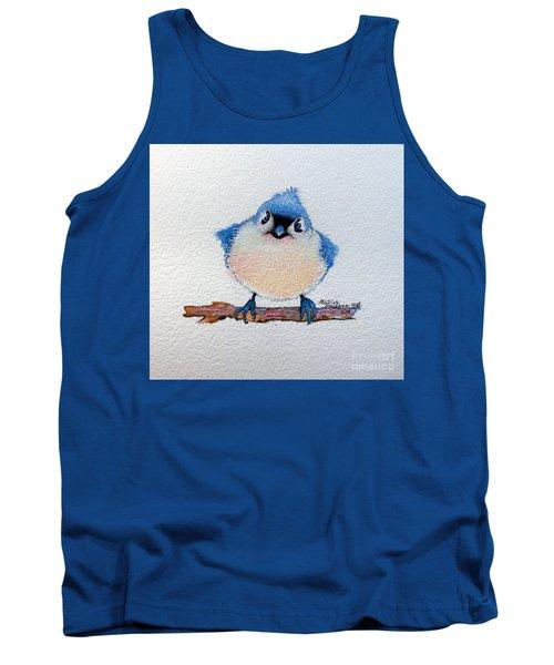 Baby Bluebird Tank Top by Marcia Baldwin
