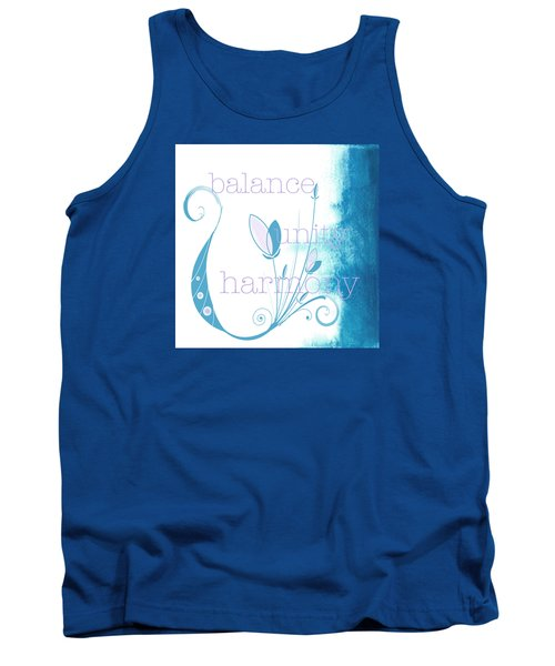 Tank Top featuring the painting Balance by Kandy Hurley