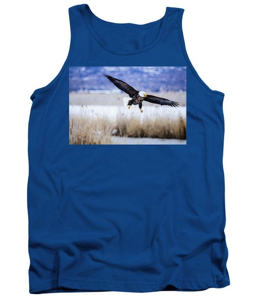 Bald Eagle Landing Tank Top