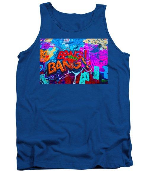 Bang Graffiti Nyc 2014 Tank Top by Joan Reese