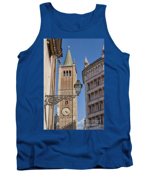 Baptistery And Cathedral In Parma Tank Top by Patricia Hofmeester