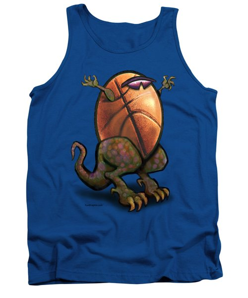 Basketball Saurus Rex Tank Top