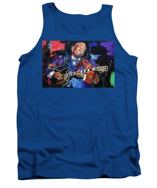 Bb King Tank Top by Richard Day