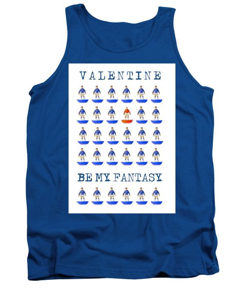 Be My Fantasy Tank Top by John Colley