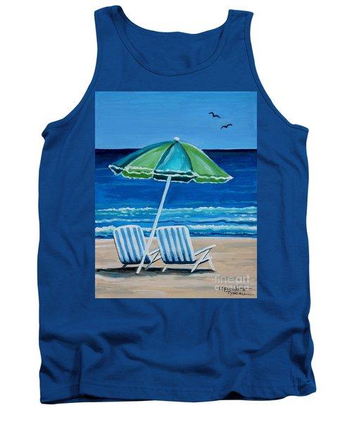 Beach Chair Bliss Tank Top