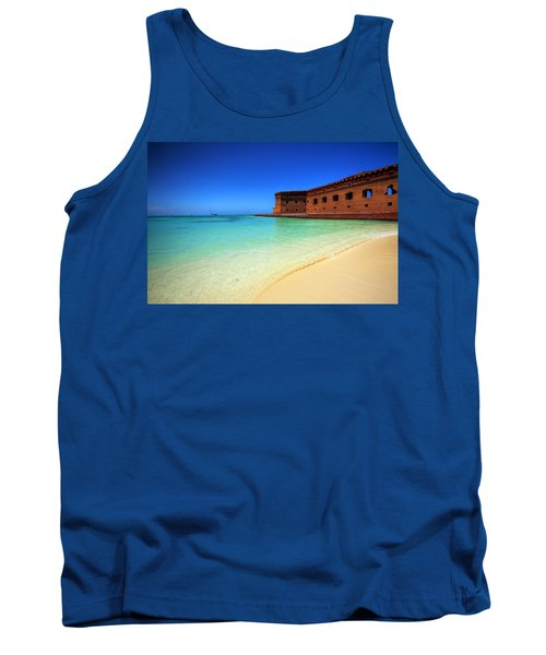 Beach Fort. Tank Top