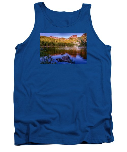 Bear Lake 1 Tank Top by Mary Angelini
