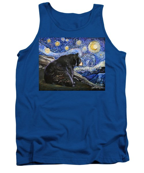 Beary Starry Nights Tank Top