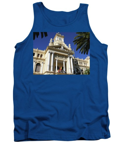 Beautiful Malaga City Hall Tank Top