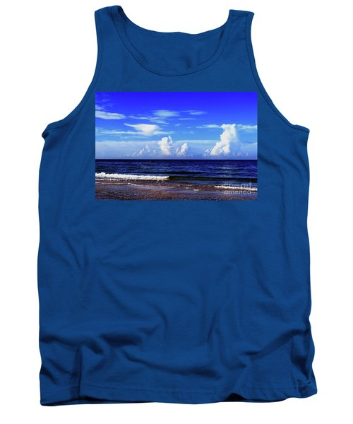 Tank Top featuring the photograph Beautiful Ocean View by Gary Wonning