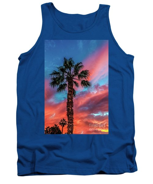 Tank Top featuring the photograph Beautiful Palm Tree by Robert Bales