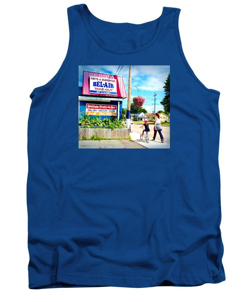 Bel Air  Tank Top by Patricia L Davidson
