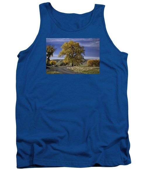 Belfry Fall Landscape 5 Tank Top